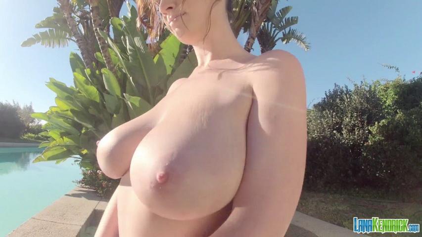 Lana kendrick - patriotic hot tub gopro 1 - 1 minute. Lana